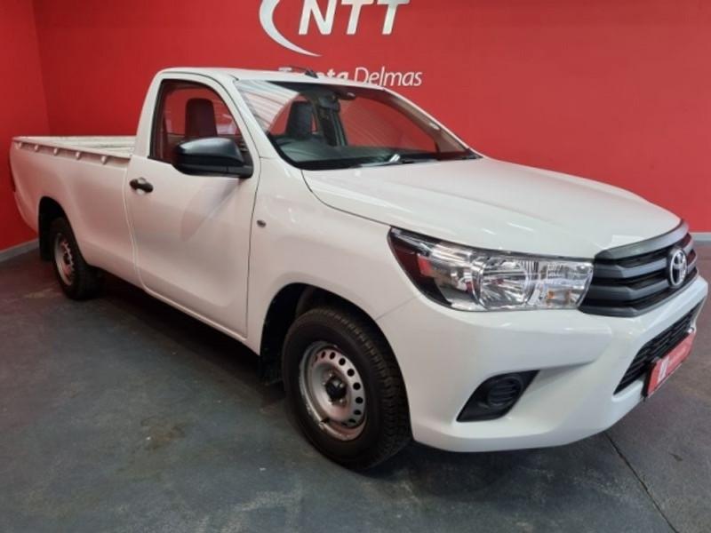 2017 Toyota Hilux 2.4 GD AC Single Cab Bakkie Mpumalanga Delmas_0