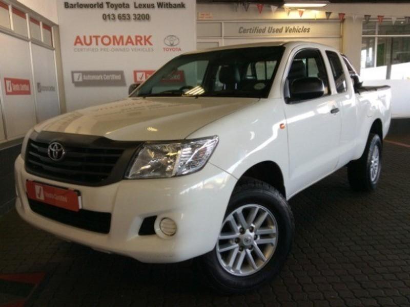 2015 Toyota Hilux 2.5 D-4D RB SRX PU XTRA CAB Mpumalanga Witbank_0