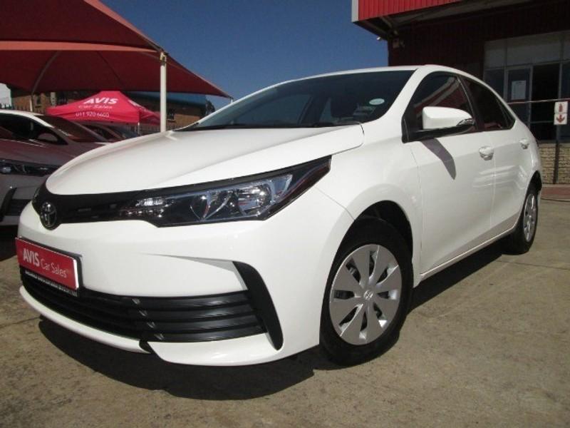 2020 Toyota Corolla Quest 1.8 CVT Gauteng Kempton Park_0