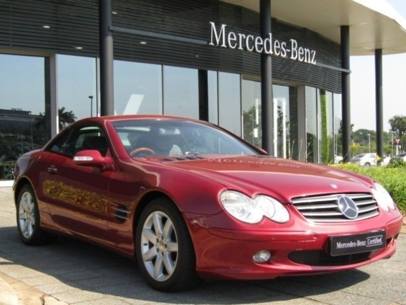 2003 Mercedes-Benz SL-Class Sl 500 Roadster  Kwazulu Natal Umhlanga Rocks_0