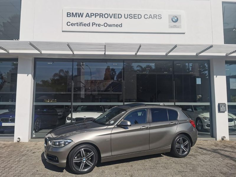 2017 BMW 1 Series 118i Sport Line 5DR Auto f20 Gauteng Johannesburg_0