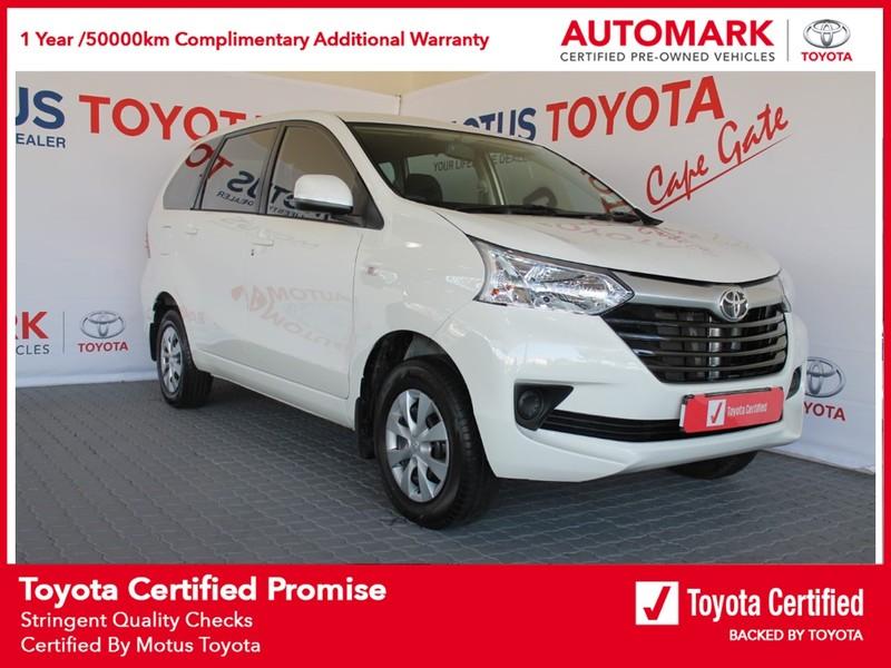 2021 Toyota Avanza 1.3 SX Western Cape Brackenfell_0