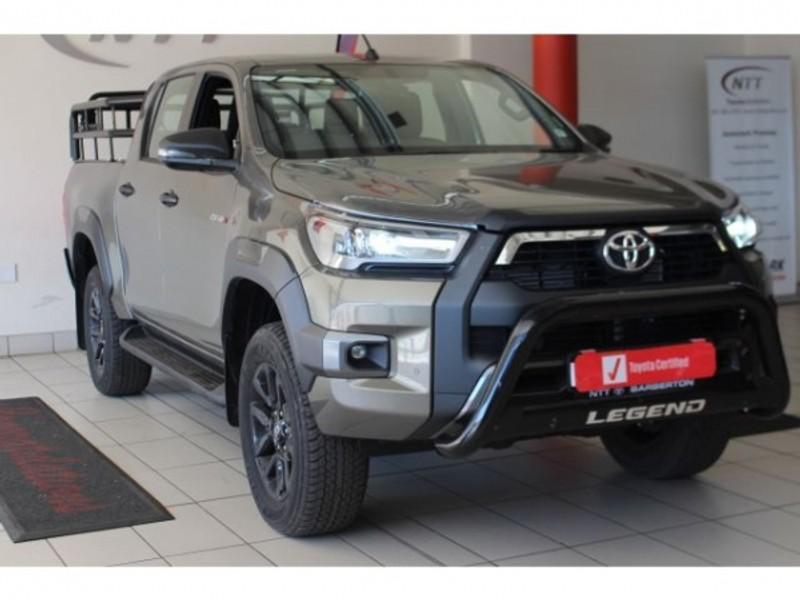 2021 Toyota Hilux 2.8 GD-6 RB Legend Auto Double Cab Bakkie Mpumalanga Barberton_0