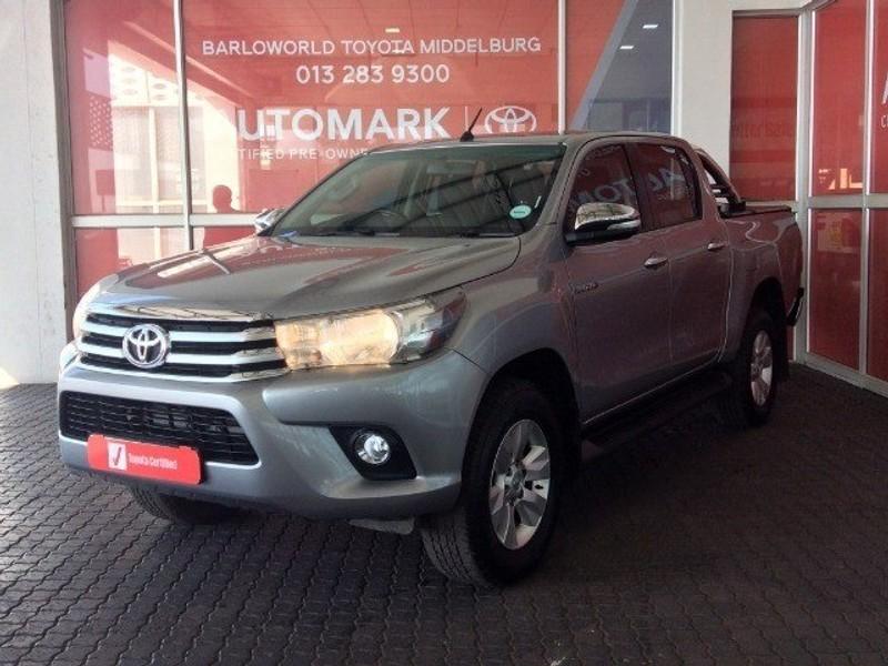 2017 Toyota Hilux 2.8 GD-6 RB Raider Double Cab Bakkie Auto Mpumalanga Middelburg_0