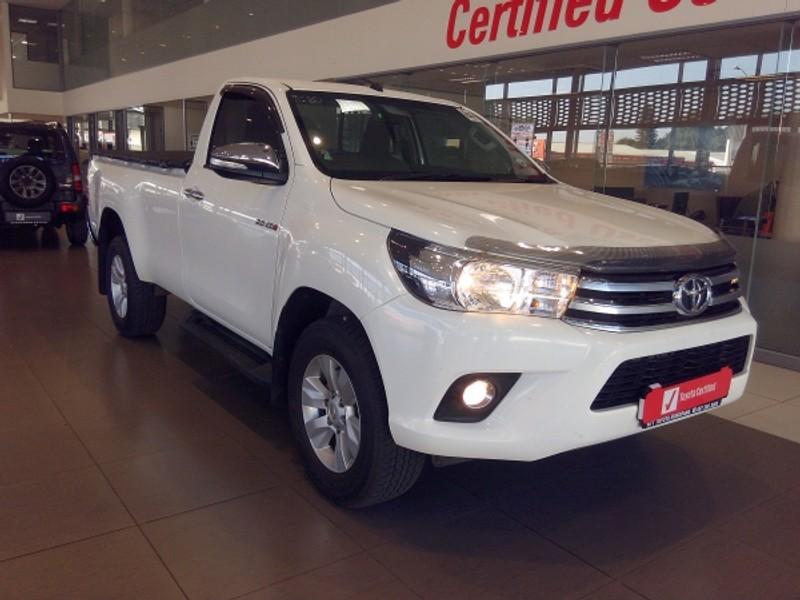 2017 Toyota Hilux 2.8 GD-6 RB Raider Single Cab Bakkie Limpopo Mokopane_0
