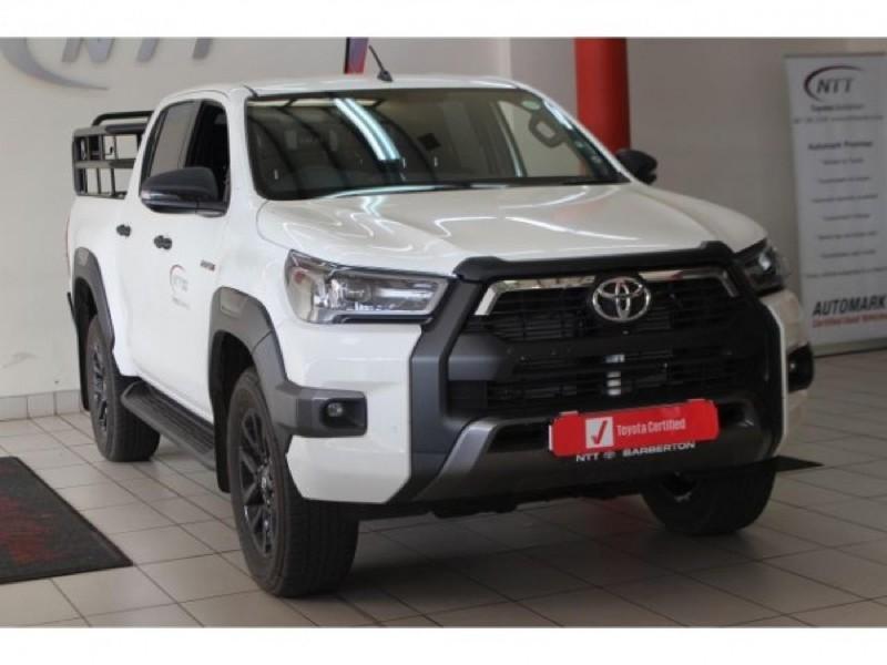 2021 Toyota Hilux 2.8 GD-6 Raised Body Legend Double-Cab Mpumalanga Barberton_0