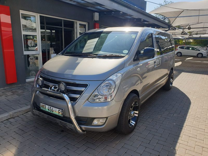 2016 Hyundai H1 2.5 CRDI Wagon Auto Gauteng Vanderbijlpark_0