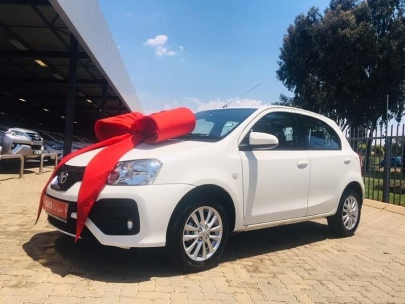 2018 Toyota Etios 1.5 XS 5-dr Gauteng Centurion_0