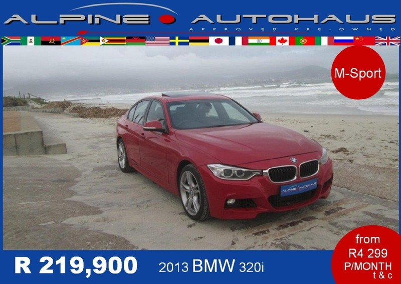 2013 bmw 3 series 320i auto for sale in western cape