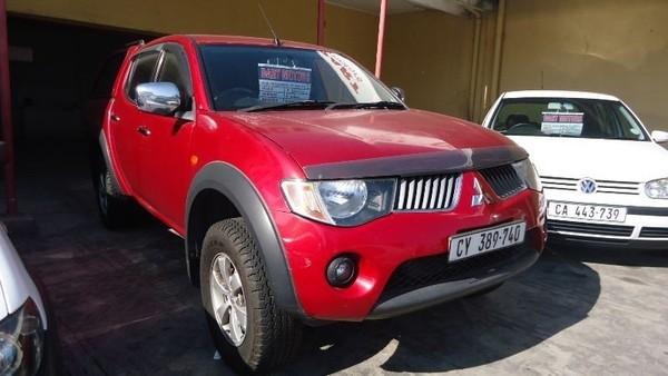 2008 Mitsubishi Triton 2.5 Di-d 4x4 Pu Dc Western Cape Cape Town_0