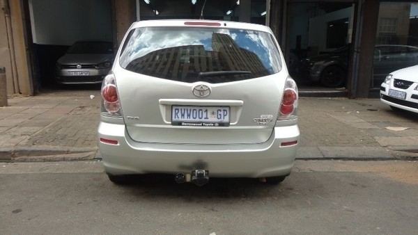 2007 Toyota Verso 1.6 sx 2007 model Gauteng Johannesburg_0
