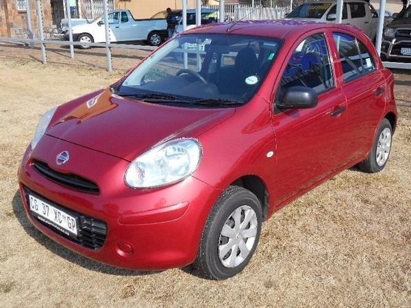 2013 Nissan Micra 1.2 Visia Insync 5dr d86v Gauteng Vereeniging_0