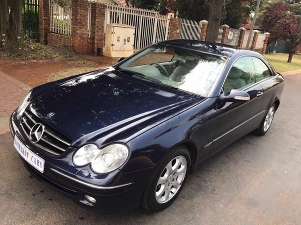 2004 Mercedes-Benz CLK-Class Clk 320 Coupe At  Gauteng Boksburg_0