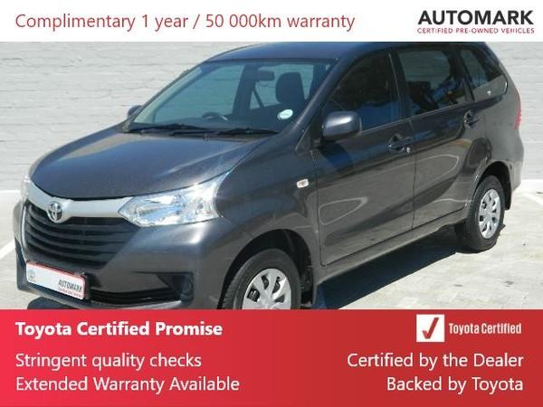 2017 Toyota Avanza 1.5 SX Western Cape Athlone_0