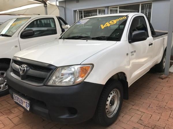 2007 Toyota Hilux 2.0 Vvti Pu Sc  Gauteng Pretoria_0