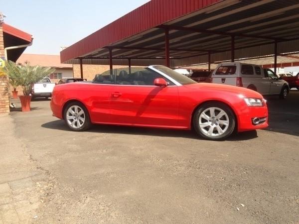 2009 Audi A5 2.0 Tfsi Cabriolet Mtronic  Gauteng Pretoria_0