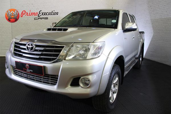 2012 Toyota Hilux 3.0 D-4d Raider 4x4 At Pu Dc  Gauteng Edenvale_0