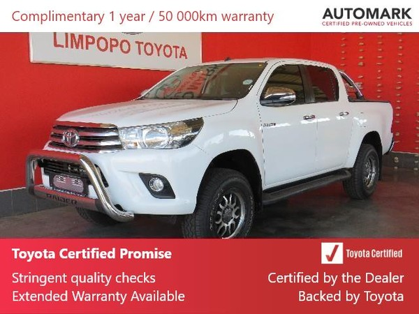 2017 Toyota Hilux 2.8 GD-6 Raider 4X4 Double Cab Bakkie Auto Limpopo Polokwane_0