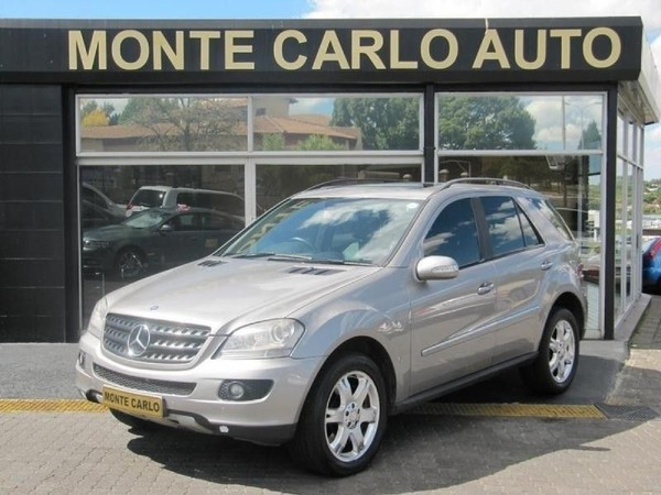 2008 Mercedes-Benz ML Ml 500 At  Gauteng Sandton_0
