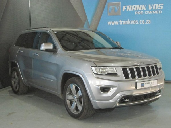2017 Jeep Grand Cherokee 3.0l V6 Crd Overland  Western Cape Worcester_0