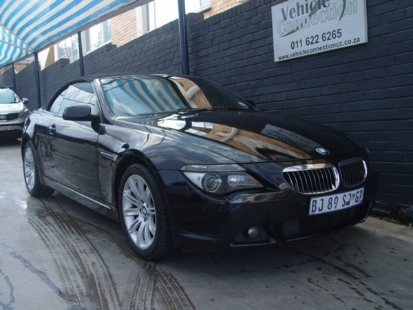 2008 BMW 6 Series 650i Convertible Sport At e64 Gauteng Johannesburg_0