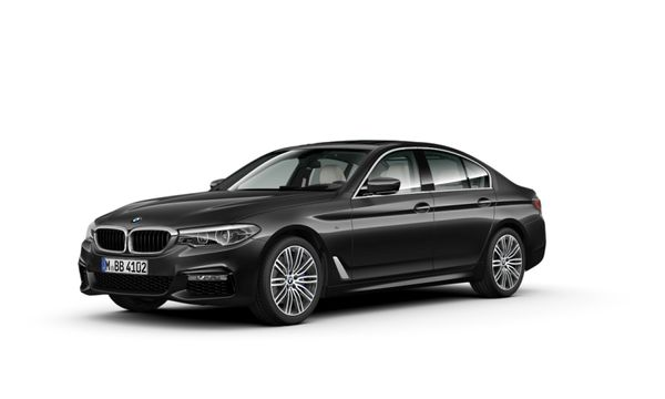 2017 BMW 5 Series 540i M Sport Auto Gauteng Roodepoort_0