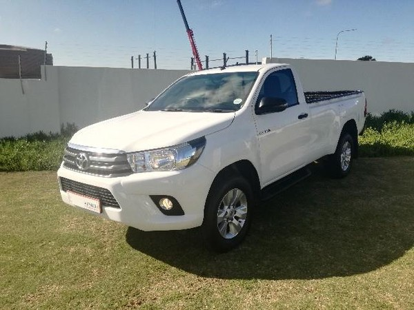 Used Toyota Hilux 2 4 GD-6 SRX 4X4 Single Cab Bakkie Auto