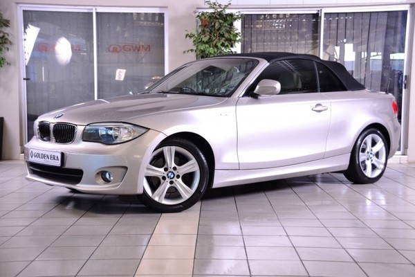 2011 BMW 1 Series 125i Convertible At Gauteng Pretoria_0