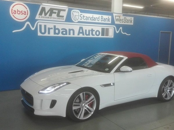 2014 Jaguar F-TYPE S 3.0 V6 Western Cape Parow_0