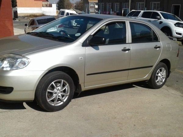 2006 Toyota Corolla Cash only  NEG Gauteng Johannesburg_0
