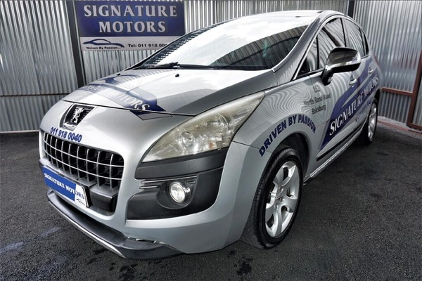 2010 Peugeot 3008 1.6 Thp Executive  Gauteng Boksburg_0