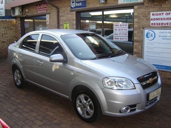 Used Chevrolet Aveo 16 Ls At For Sale In Gauteng Cars Id