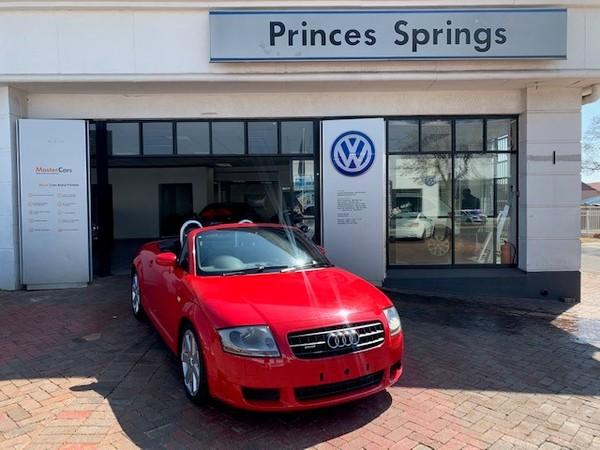 2005 Audi TT Roadster 3.2 V6 Quatt Dsg  Gauteng Springs_0