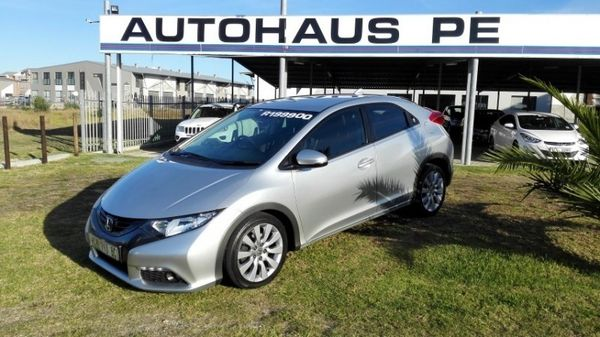 2013 Honda Civic 1.8 Executive 5dr At  Eastern Cape Port Elizabeth_0