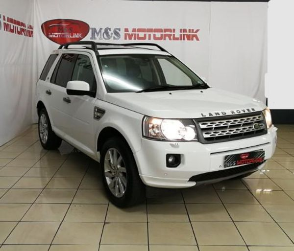 Used Land Rover Freelander Ii 2.2 Sd4 Hse A/t For Sale In