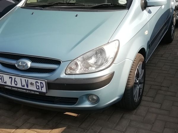 2009 Hyundai Getz 1.5 Crdi Hs  Gauteng Boksburg_0