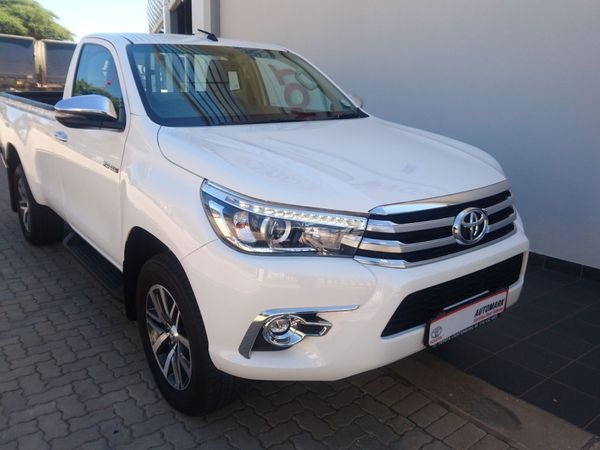 2018 Toyota Hilux 2.8 GD-6 Raider 4x4 Single Cab Bakkie Auto North West Province Lichtenburg_0