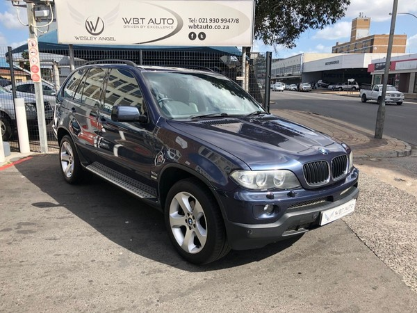 2005 BMW X5 3.0d Sport At  Western Cape Cape Town_0