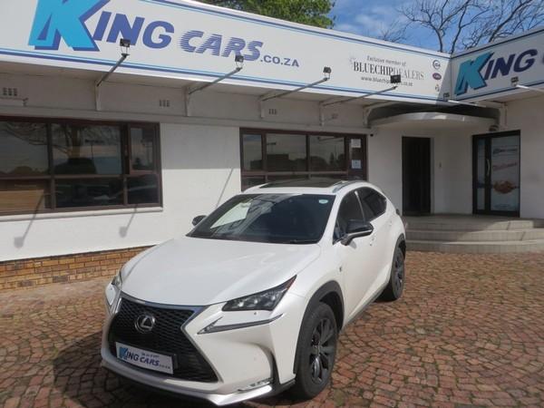 2015 Lexus NX 2.0 T F-Sport Western Cape Bellville_0