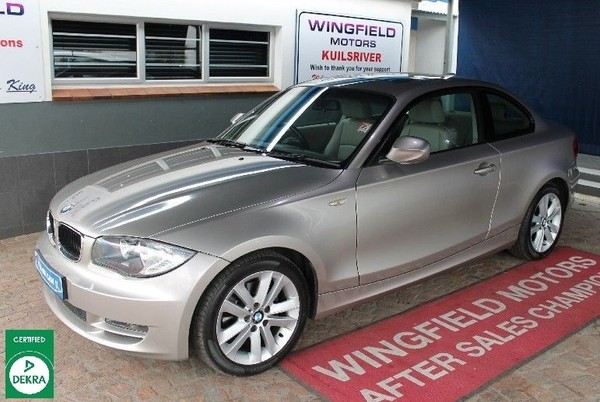 2010 BMW 1 Series 120d Coupe At  Western Cape Kuils River_0