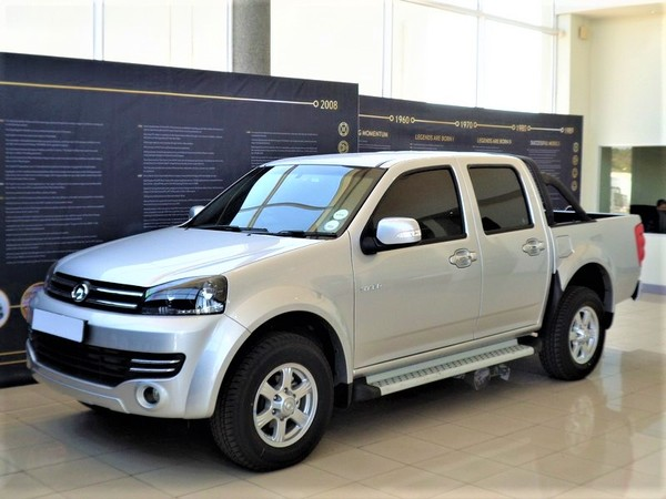 2018 GWM Steed STEED 5E 2.0 VGT XSCAPE Double Cab Bakkie Gauteng Four Ways_0