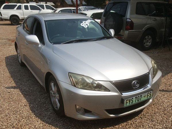 2006 Lexus IS 250 A/t For Sale In Gauteng