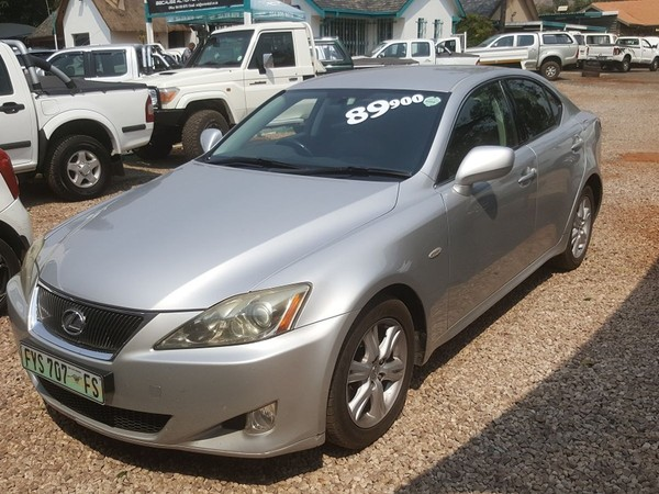 2006 Lexus IS 250 At Gauteng Pretoria_1