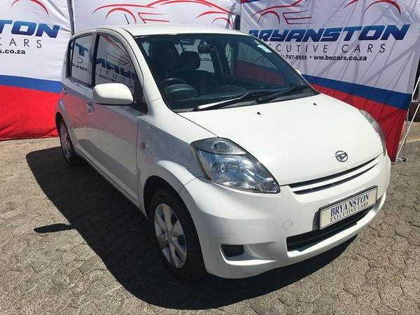 2012 Daihatsu Sirion 1.3i  Gauteng Bryanston_0