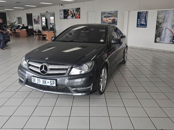 2014 Mercedes-Benz C-Class C180 Be Coupe At  Gauteng Randfontein_0