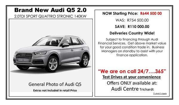2019 Audi Q5 2.0 TDI Quattro Stronic Sport Mpumalanga Trichardt_0