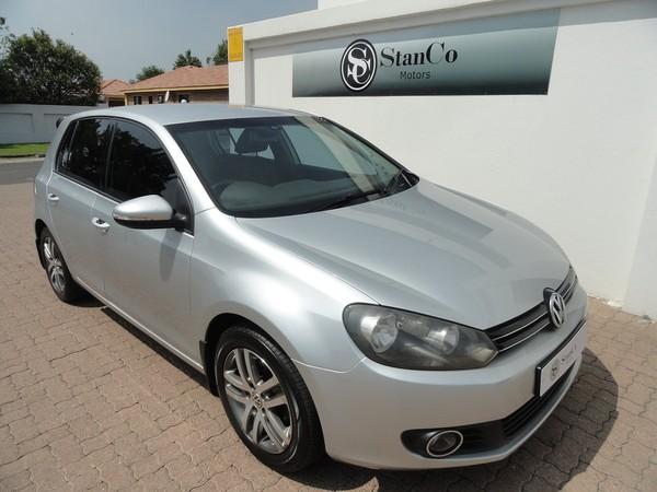 2011 Volkswagen Golf Vi 1.6 Tdi Comfortline Dsg  Mpumalanga Trichardt_0