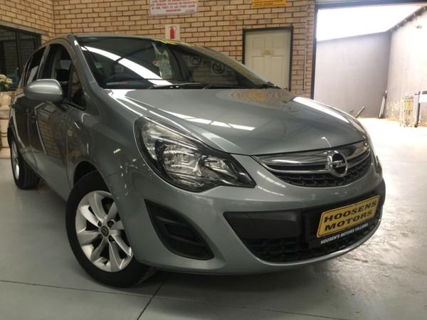 2014 Opel Corsa 1.4 Essentia 5dr 5spd M super low kilos Free State Villiers_0