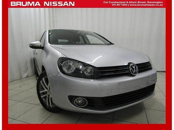 2012 Volkswagen Golf Vi 1.6 Tdi Comfortline Dsg  Gauteng Johannesburg_0