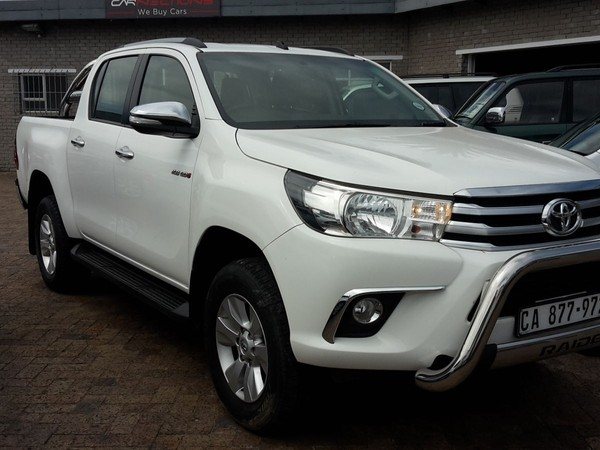 2016 Toyota Hilux 2.8 GD-6 RB Raider Double Cab Bakkie Auto Western Cape Plumstead_0